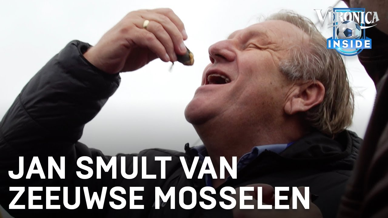 Jan smult van Zeeuwse mosselen: 'Fantastisch, echt niet normaal!' | VERONICA INSIDE