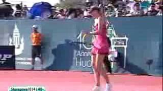 Maria Sharapova vs. Venus Williams HUA HIN EXHIBITION 6/7