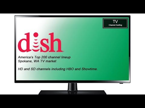 TV Channel Lineup: Dish Network, America's Top 200 Package HD and SD (Spokane, WA TV Market)