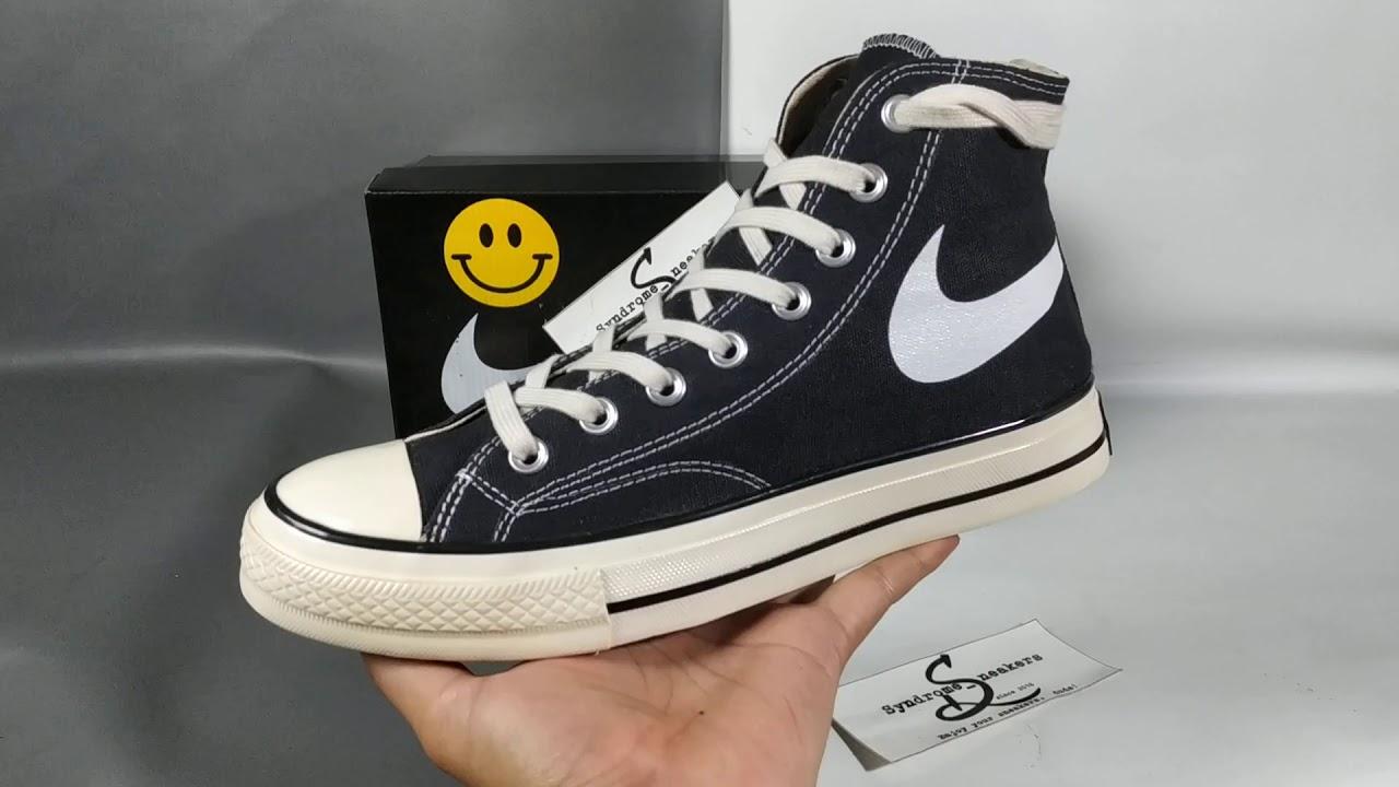 Converse 70s hi Smile x Nike - YouTube