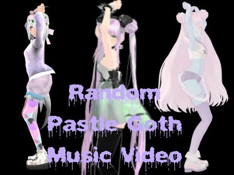 Random Pastel Goth Music Video