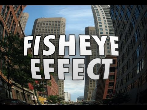 Photoshop - Fisheye Effect