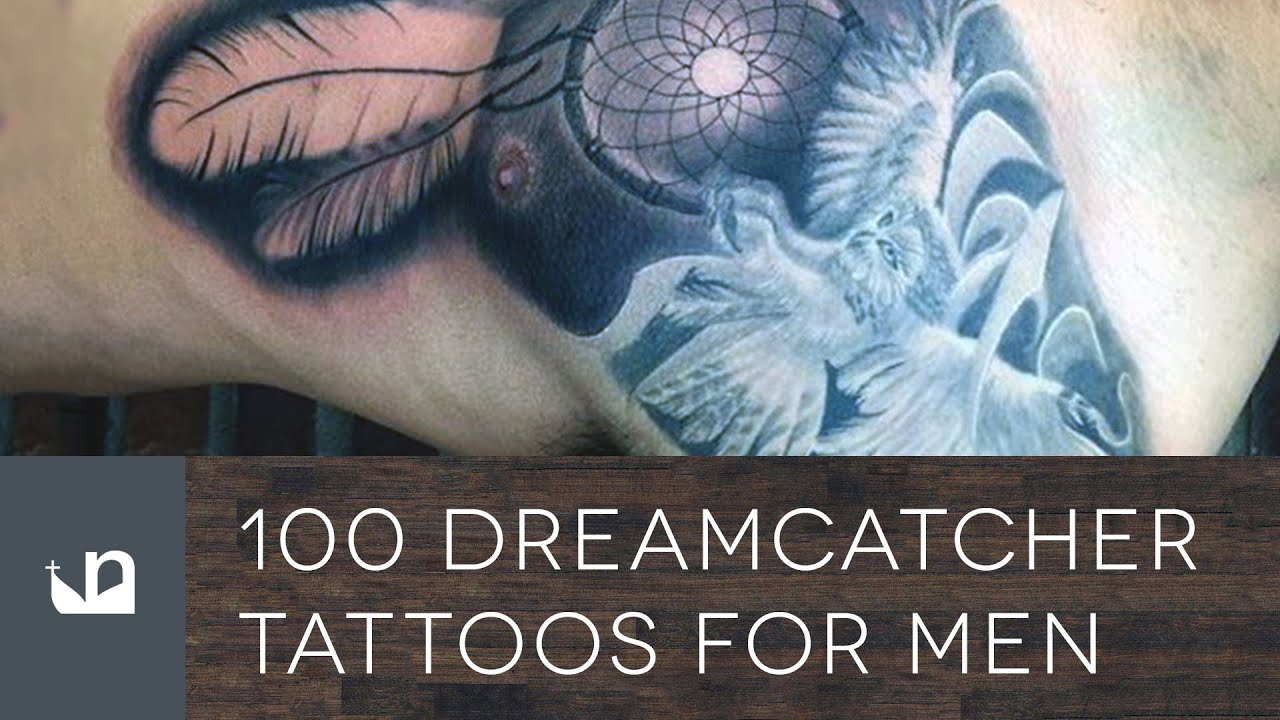 Dream Catchers Tattoos For Men 40 Dreamcatcher Tattoos For Men YouTube 32