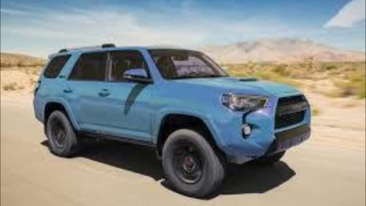 2018 Toyota 4runner Trd Pro In Cavalry Blue 08w2 First Pictures