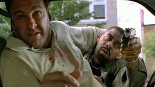 The failed assassination attempt of Tony - The Sopranos HD