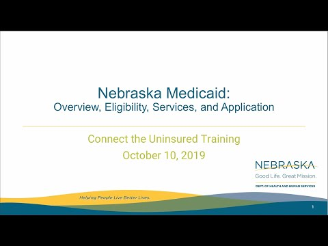 Nebraska Medicaid Eligibility & Application