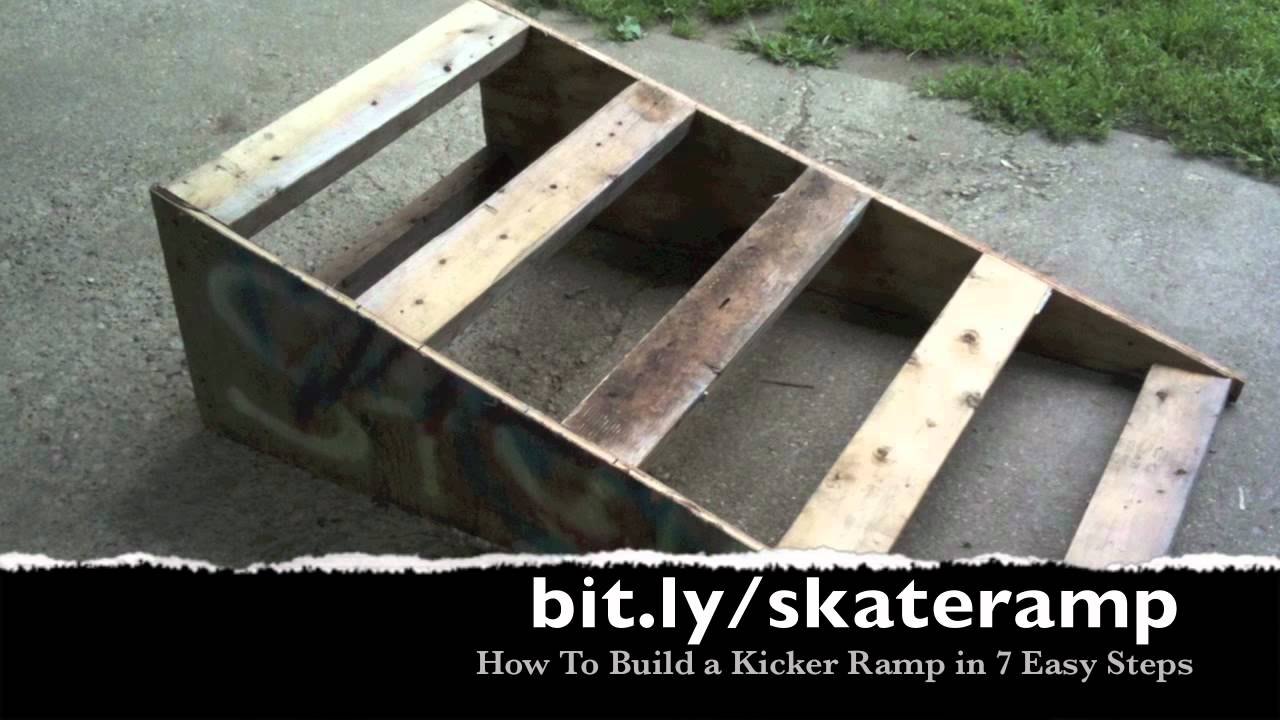 Ramp For Car >> How to Build a Kicker Ramp for Skateboarders in 7 Easy Steps - YouTube