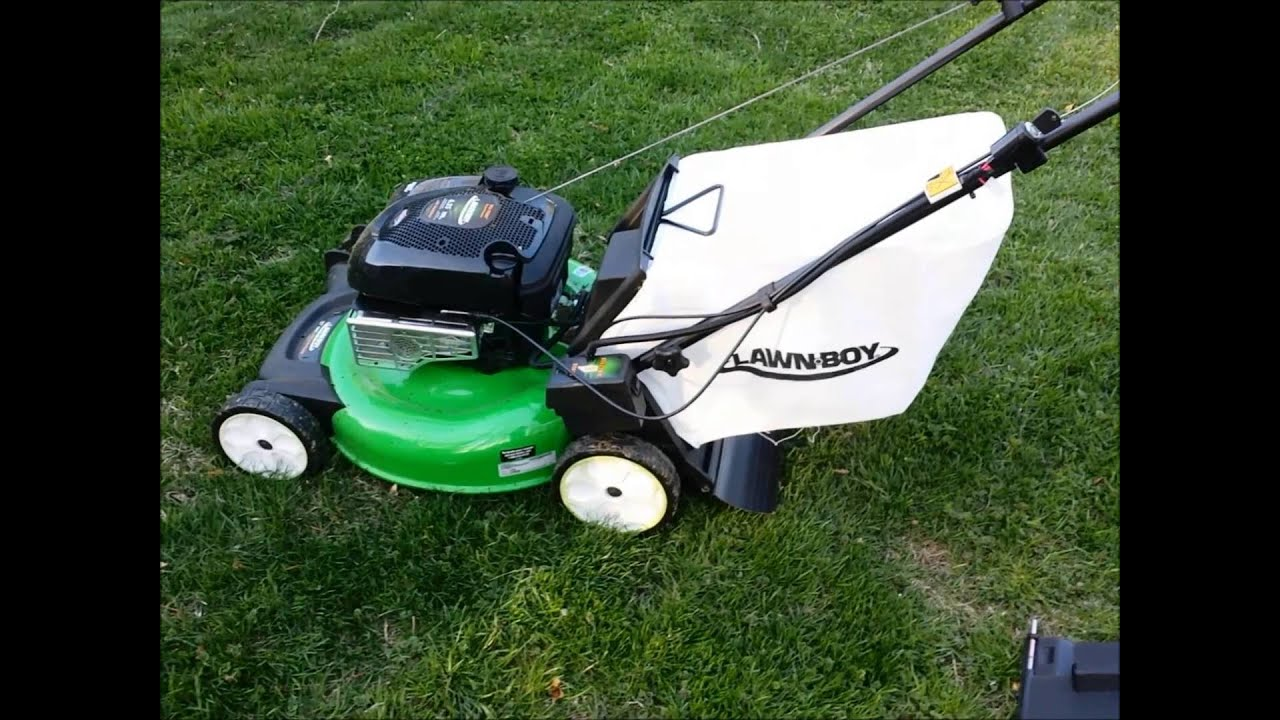 lawn boy mower reviews