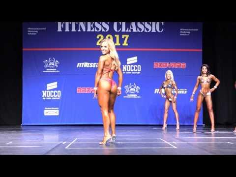 Fitness Classic 2017 - Bikini Fitness juniorit - Alle 163cm - Finaali