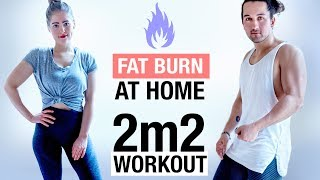 FAT BURN & TONE Workout in JAPAN Tiny AirBNB !