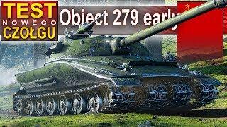 Object 279 early - radzieckie monstrum 4 gąsienice - World of Tanks