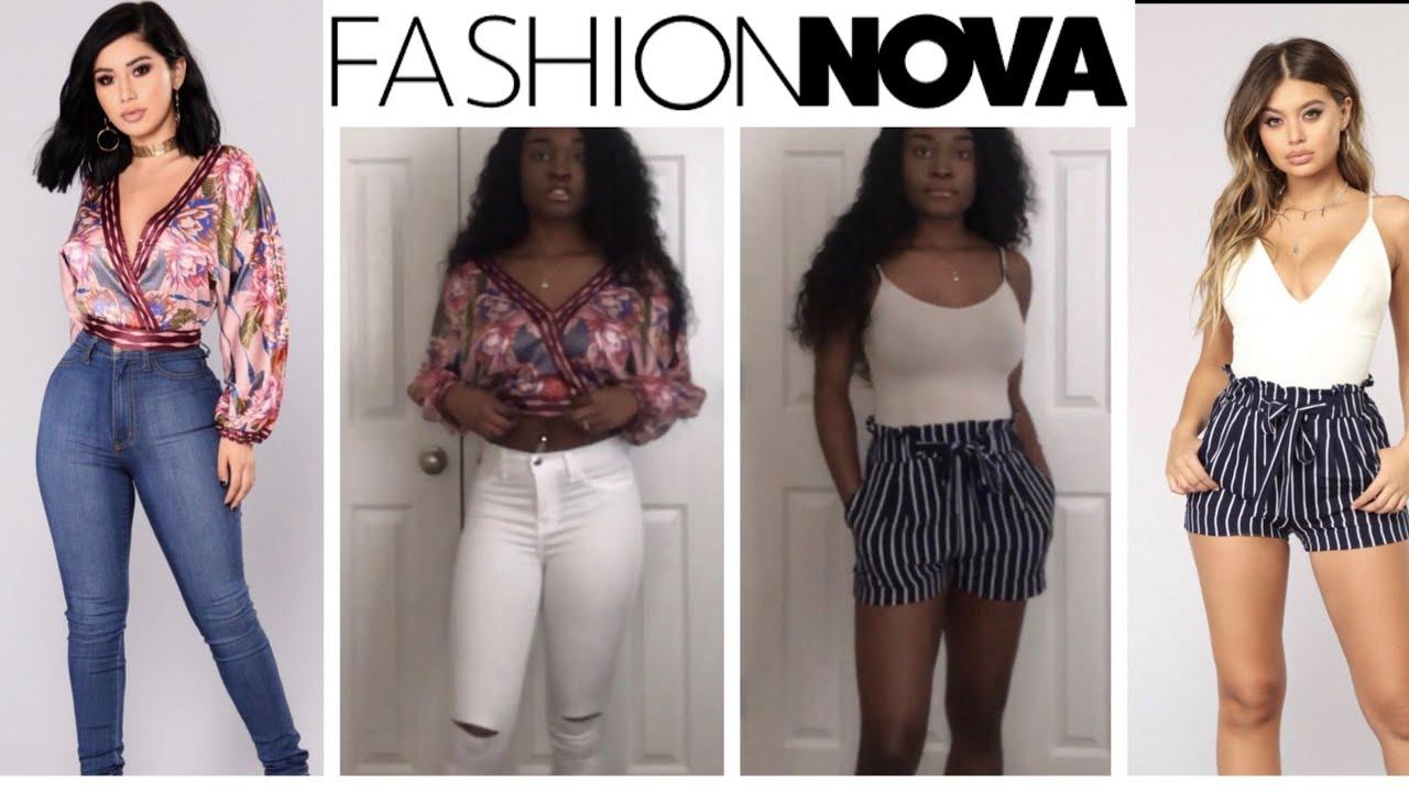8e10c81d34a9 FASHION NOVA TRY-ON HAUL 2018 - YouTube