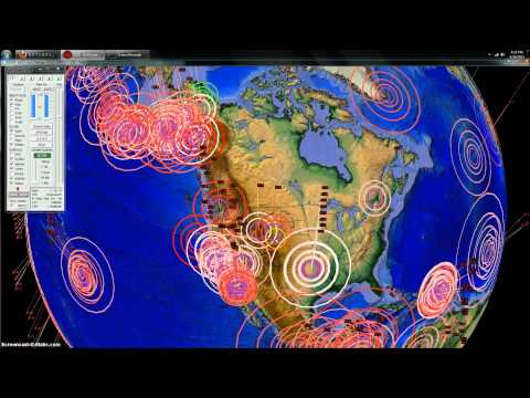 4/16/2013 -- Global Earthquake Overview -- Unrest at Volcanoes and Fracking Ops