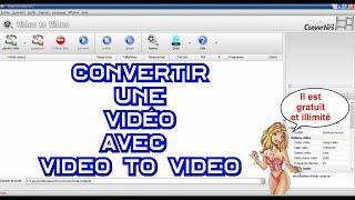 Convertir une vidéo avec Video to Video