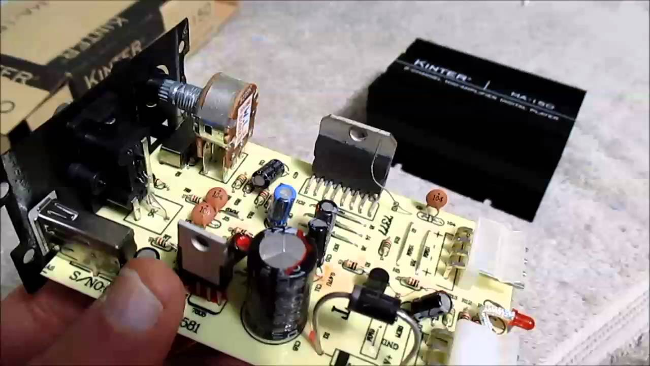 maxresdefault kinter ma 150 audio amplifier review, teardown and power test kinter ma 150 wiring diagram at eliteediting.co