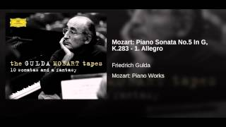 Mozart: Piano Sonata No.5 In G, K.283 - 1. Allegro (Live At Weissenbach, Attersee / 1980)