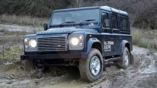 Land Rover Defender Electric Concept 2013 Videos