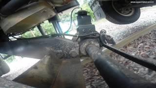 Teste de rodagem de caminhão rodoferroviário