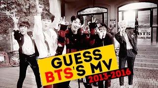 BTS - УГАДАЙ ВСЕ КЛИПЫ С 2013-2016 | 23 MV ИГРА | ARI RANG