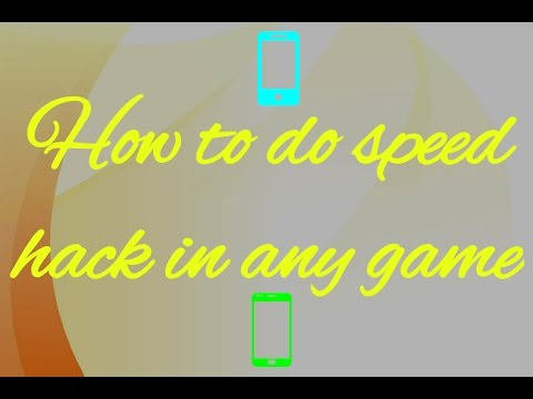 How to do speed hack in any game