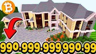 КРИПТОГОРОД! КУПИЛИ ОСОБНЯК ЗА 99.999.999.999 БИТКОИНОВ! Minecraft