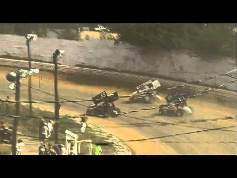 Port Royal Speedway 410 Sprint Car Highlights 9-06-10