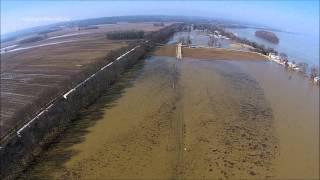 Ohio River Flooding 3-10-2015 Video