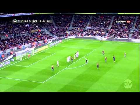Piqué falta/foul vs Mallorca 2013 thumbnail