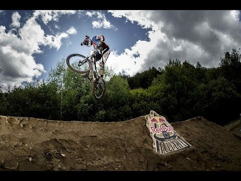 Downhill enduro bike race in Spain - Red Bull Holy Bike 2014