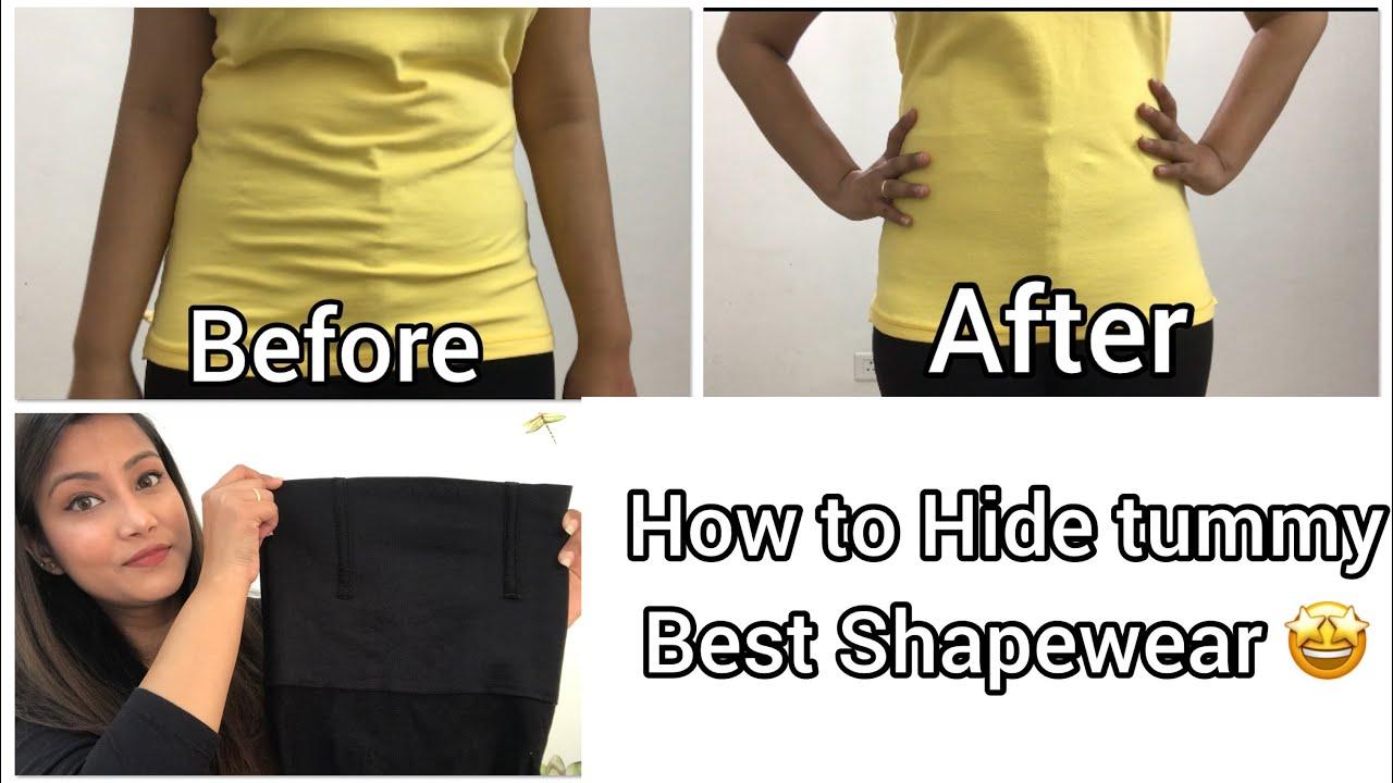 a09fceedeb56 How to Hide Tummy Fat | Look Slim with Best Shapewear/Bodyshaper in Hindi |  2019