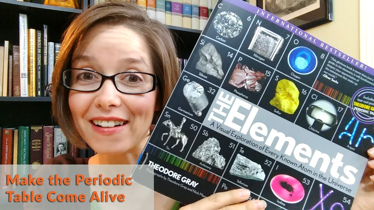Make The Periodic Table Come Alive The Elements By Theodore Gray