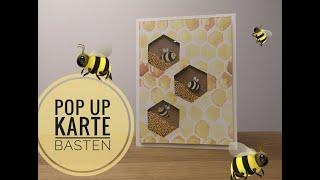 POP UP Karte DIY I Shaker Karte I Basteln mit Papier.