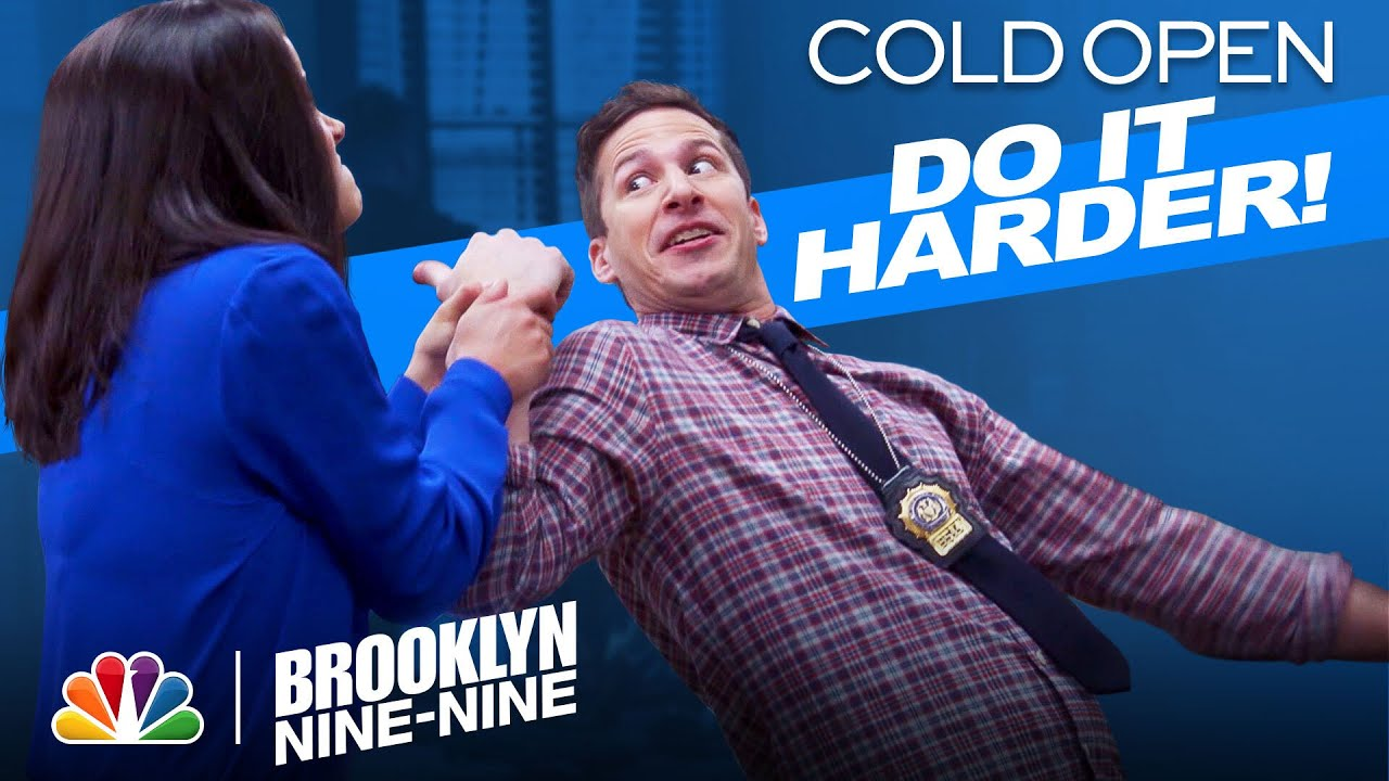 Cold Open: Amy Does Her Dork Dance Because... - Brooklyn Nine-Nine