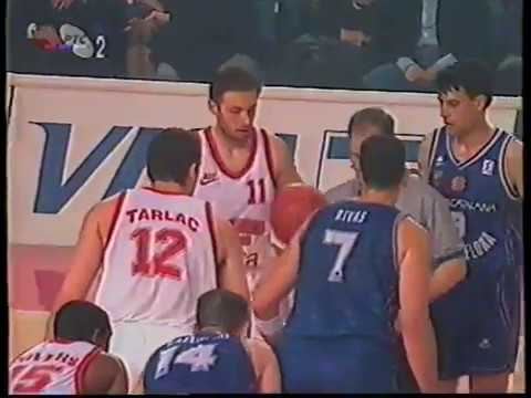 Olympiakos 73 vs Barcelona 58 ( 1997.  FIBA EuroLeague Final Four Rome )