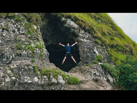 EXPLORING CAVES IN NORTHERN IRELAND!