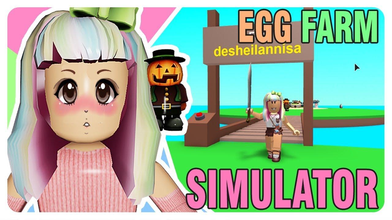 Youtube Roblox Egg Farm Simulator - King Boss Chika Xd Roblox Egg Farm Simulator Indonesia