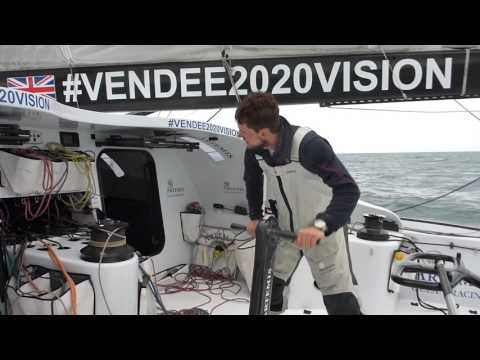 Vendee2020vision Solo Offshore IMOCA60 Training