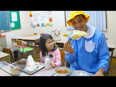 Thumbnail: World's Best School Lunch ★ ONLY in JAPAN
