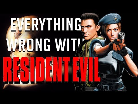 GamingSins:  Everything Wrong with Resident Evil (1996 Original)