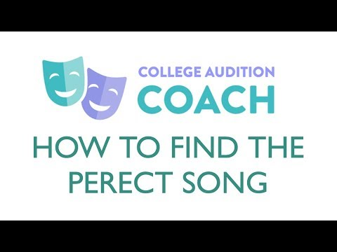 How To Find The Perfect Audition Song