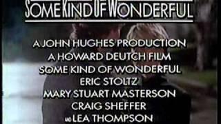 Some Kind of Wonderful 1987 TV trailer