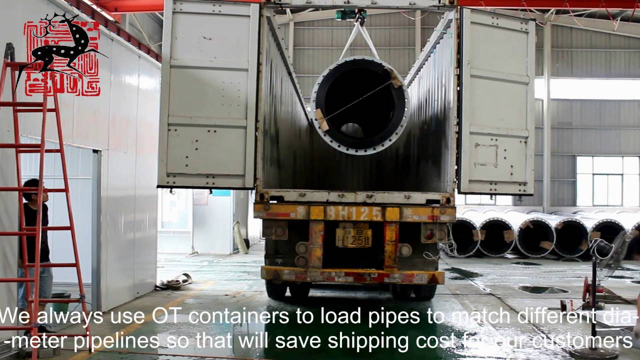 HDPE Pipe Packing By Deers