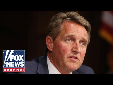 Senator Jeff Flake delivers his farewell address