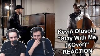"""Kevin K.O. Olusola - Stay With Me (Sam Smith looping KOver)"" Singers Reaction"
