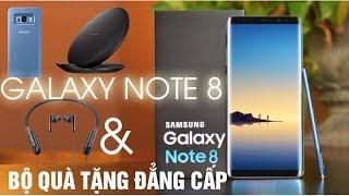 Mở hộp Samsung Galaxy Note 8 Chính hãng và Bộ quà tặng đẳng cấp - Asun.vn