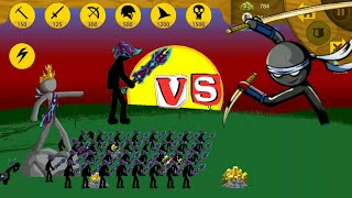 Maxed Vampire Swordwrath Army VS Crazy Jay | Insane MODE Tournament | Stick War Legacy