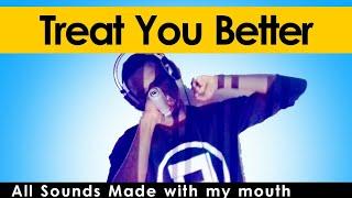 Rhamzan - TREAT YOU BETTER [Only Vocals]   w/ Lyrics Subtitle