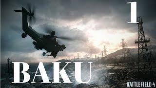 Battlefield 4 - Mission 1 Baku Walkthrough Gameplay [ULTRAWIDE 4k 60 FPS PC]