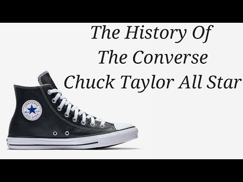 The Sneaker Vault #2: The History Of The Converse Chuck Taylor All Star