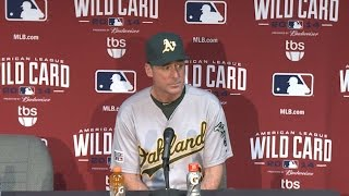 AL WC: Melvin on injuries to Crisp and Soto, 8-9 loss